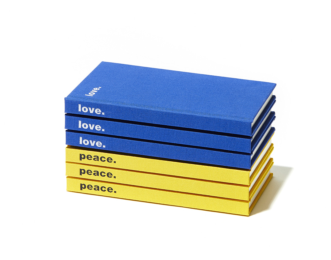 09. love / peace NOTE